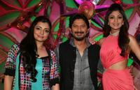 Vaibhavi Merchant, Arshad Warsi and Shilpa Shetty at the Indian reality television dance show