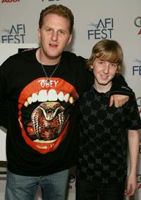 Michael Rapaport and Dean Collins at the screening of