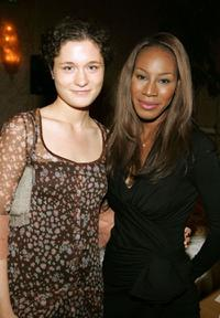Mary Nighy and writer Amma Asante at the UK Film Council's Inaugural