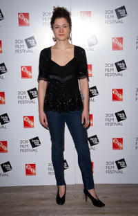 Mary Nighy at the opening night of Birds Eye View Film Festival in London.