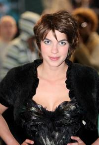 Natalia Tena at the European premiere of