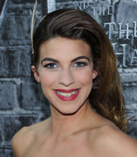 Natalia Tena at the Grand Opening of Harry Potter: The Exhibition in New York.