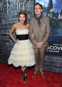 Natalia Tena and David Thewlis at the Grand Opening of Harry Potter: The Exhibition in New York.