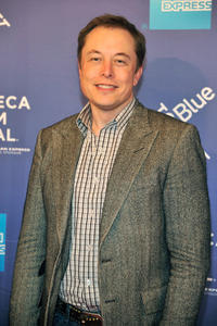 Elon Musk at the New York premiere of