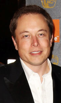 Elon Musk at the Orange British Academy Film Awards 2011 in England.