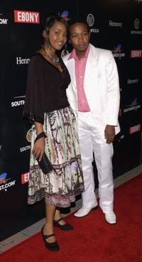 Terry Pheto and Presley Chweneyagae at the 2nd Annual Ebony Oscar Celebration.