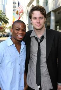 Paul James and Jake McDorman at the Academy of Television Arts and Sciences Costume Design and Supervision Peer Group.
