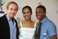 Patrick Sean Smith, Dilshad Vadsaria and Paul James at the 20th Annual GLAAD Media Awards.