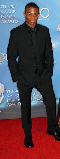 Paul James at the 40th NAACP Image Awards.