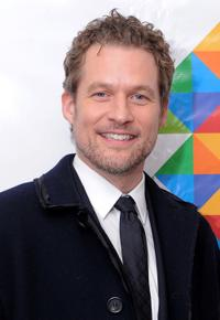 James Tupper at the WNBC's Rockefeller Center Tree Lighting celebration.