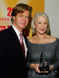 William H. Macy and Helen Mirren at the 22nd Santa Barbara International Film Festival.