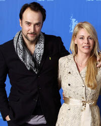 Carlos Leal and Belen Rueda at the photocall of