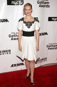 Jess Weixler at the 17th Annual Gotham Awards.