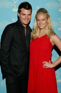 Jeff Branson and Leven Rambin at the 34th Annual Daytime Creative Arts and Entertainment Emmy Awards.