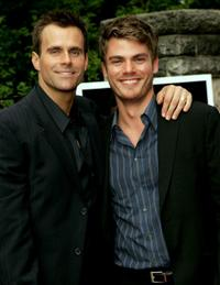 Cameron Mathison and Jeff Branson at the 32nd Annual Daytime Emmy Awards.