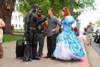 Enchanted Princess (Nicole Parker), Will (Matt Lanter) and Calvin (Gary 'G-Thang' Johnson) in