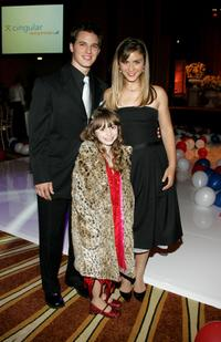 Matt Lanter, Caitlin Wachs and Jasmine Anthony at the inaugural ball and premiere of