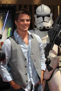 Matt Lanter at the premiere of