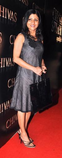 Konkona Sen Sharma at the Chivas promotional event.