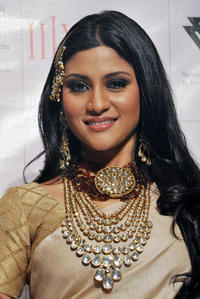 Konkona Sen Sharma at the presentation for Amarapali Jewelers in Mumbai.