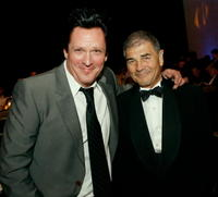 Michael Madsen and Robert Forster at the 57th annual ACE Eddie Awards cocktail reception held at the Beverly Hilton Hotel.