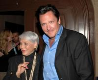 Michael Madsen and his mother Elaine at the after party for the premiere of