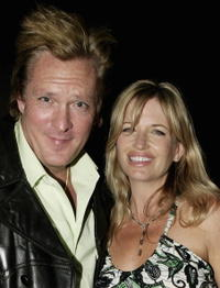 Michael Madsen and his wife Deanna at the aftershow party following the UK premiere of