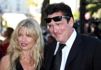Michael Madsen and his wife De Anna Morgan at the premiere of