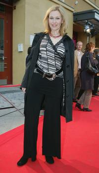 Outi Maenpaa at the Berlin premiere of