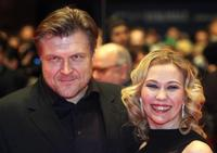 Petri Kotwica and Outi Maenpaa at the 58th International Berlinale Film Festival.