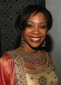 Tamyra Gray at the Cast Of Bombey Dreams at Dream Hotel.