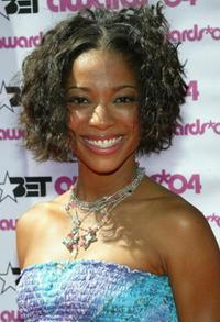 Tamyra Gray at the 2004 Black Entertainment Awards.