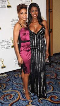 Tamyra Gray and Omarosa Manigault-Stallworth at the 51st Annual New York Emmy Awards gala.