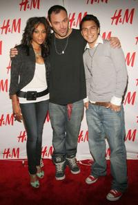Tamyra Gray, director David LaChapelle and Guest at the