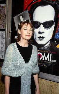Ann Magnuson at the premiere of