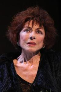 Judith Magre at the rehearsal of the play