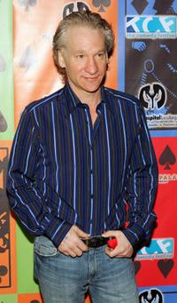 Bill Maher at the Comedy Festival's Comedy Cares first Annual Celebrity Poker Tournament.