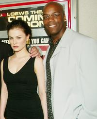 Anna Paquin and Shiek Mahmud-Bey at the New York premiere of