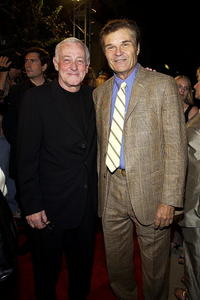John Mahoney and Fred Willard at the reception for Emmy Award nominees at Spago.