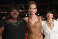 Gabourey Sidibe, Victoria Mahoney and Zoe Kravitz at the premiere of