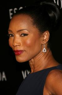 Angela Bassett at the ESCADA Grand-Reopening.