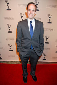 Andrew Secunda at the 63rd Primetime Emmy Awards in California.