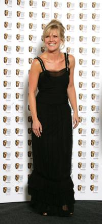 Ashley Jensen at the British Academy Television Awards.
