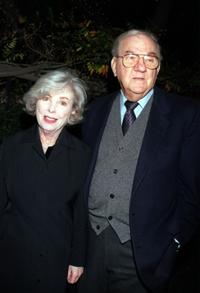 Mona Malden and Karl Malden at the premiere of