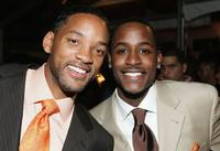 Will Smith and Jackie Long at the premiere of