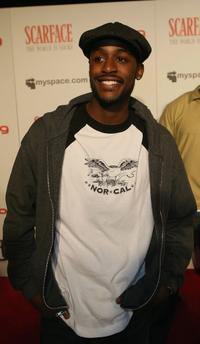 Jackie Long at the Scarface: The World is Yours Video Game Launch Party.