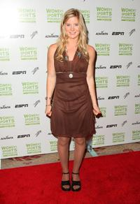 Hannah Teter at the 29th Annual Salute to Women in Sports Awards.