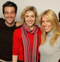 Ross Partridge, Greta Gerwig and Elise Muller at the 2008 Sundance Film Festival.