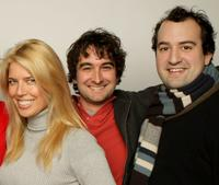 Elise Muller, Jay Duplass and Steve Zissis at the 2008 Sundance Film Festival.
