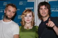 Joe Anderson, Evan Rachel Wood and Jim Sturgess at the press conference of